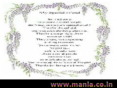 friendship_day_poems, My Special Friend