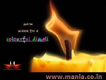 Warm wishes for a Colourful diwali