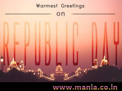 Warmest Greetings on Republic Day