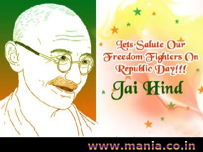 Lets Salute Our Freedom Fighters on Republic Day! Jai Hind