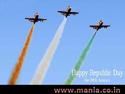 Happy Republic Day Air show