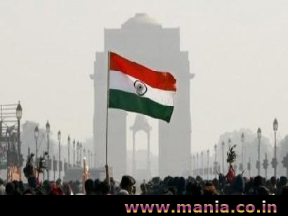 Republic Day Indian Flag on India Gate
