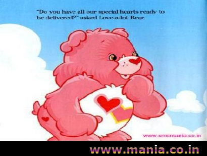 Do you have all our special hearts ready to be delivered? asked love-a-lot bear, TeddyHappy Valentines Day