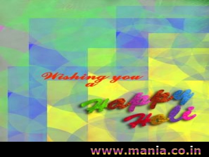 Wishing you happy holi