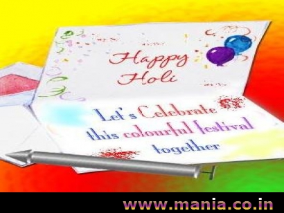 Happy Holi Let's Celebrate this Colourful festival together