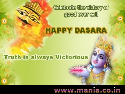 Celebrate the victory of Good over Evil, Happy Dussehra Truth is always victorious