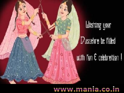 Wishing your Dussehra be filled with fun and celebration