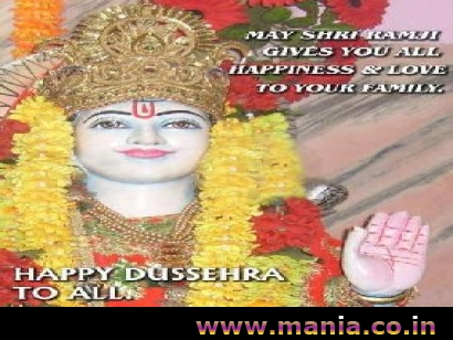 May Shri  Ramji Gives you all Happiness and love to your Family. Happy Dussehra To All