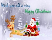 Wish You All A Very Happy Christmas