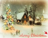 Happy Winter And Christmas