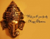 Wish You And Your Family Happy Dhanteras