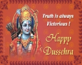 Truth Is Always Victorious! Happy Dussehra