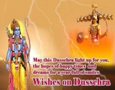 May This Dussehra Light Up For You The Hopes Of Happy Times And Dreams For A Year Full Of Smiles Wishes On Dussehra