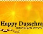 Happy Dussehra Victory Of Good Over Evil