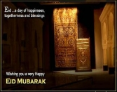 Eid...a Day Of Happiness, Togetherness And Blessings Wishing You A Very Happy Eid Mubarak