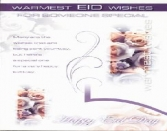 WARMEST EID WISHES FOR SOMEONE SPECIAL