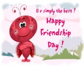 U R Simply The Best. Happy Friendship Day
