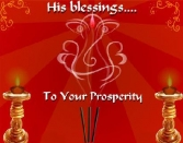 HIS BLESSINGS TO YOUR PROSPERITY