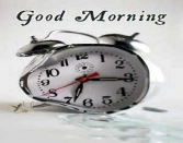 Good Morning Clock