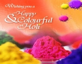 WISHING YOU A HAPPY AND COLOURFUL HOLI