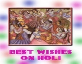 BEST WISHES ON HOLI