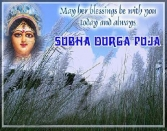 May Her Blessings Be With You Today And Always Subha Durga Puja