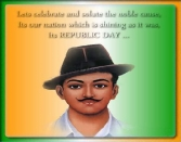 LETS CELEBRATE AND SOLUTE THE NOBLE CAUSE, ITS OUR NATION WHICH IS SHINING AS IT WAS, ITS REPUBLIC DAY....