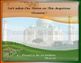 LET'S SOLUTE OUR NATIONA ON THIS AUSPICIOUS OCCASION! I ... PROUD TO BE AN INDIAN THEN U!REPUBLIC DAY