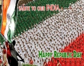 SOLUTE TO OUR INDIA HAPPY REPUBLIC DAY