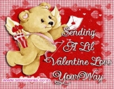 SENDING A LIL VALENTINE LOVE YOUR WAY