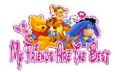 DISNEY CELEBRATE HAPPY FRIENDSHIP DAY MY FRIENDS ARE THE BEST