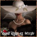 GOOD NIGHT MY FRIENDS