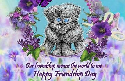 Happy Friend Friendship Day