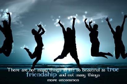 There Are Not Many Things In Life So Beautiful As True Friendship And Not Many Things More Uncommon.