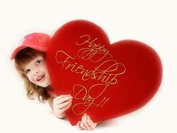 Happy Friendship Day wishes on heart