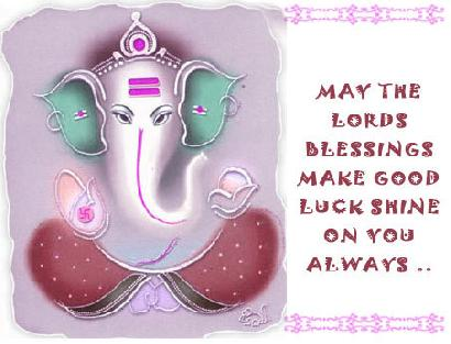 May The Lords Blessings Make Good Luck Shine On You Always