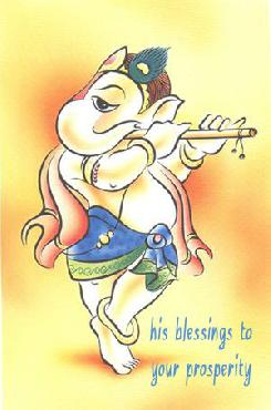Happy Ganesh Chaturthi his blessing to your prosperity