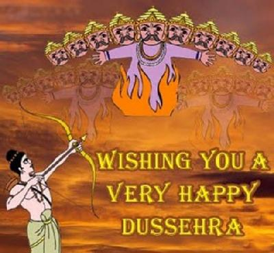 Wishing You a Very Happy Dussehra