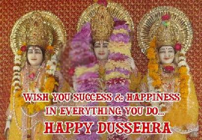 Wish You Success And Happiness In Everything You Do Happy Dussehra