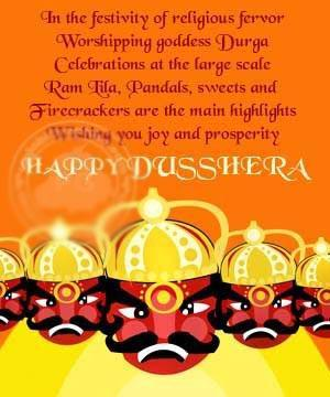 In The Festivity Of Religious Fervor, Worshipping Goddess Durga Celebrations At The Large Scale RamLila, Pandals, Sweets And Firecrackers And The Main Highlights Wishing You Joy And Prosperity