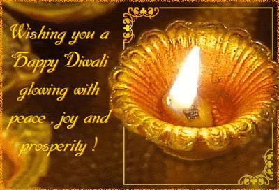 Wishing youa Happy Diwali glowing with peace, joy and prosperity.