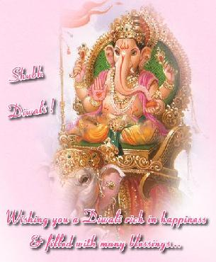 Shubh Diwali Wishing you a diwali rich in happiness and filled with many blessings....